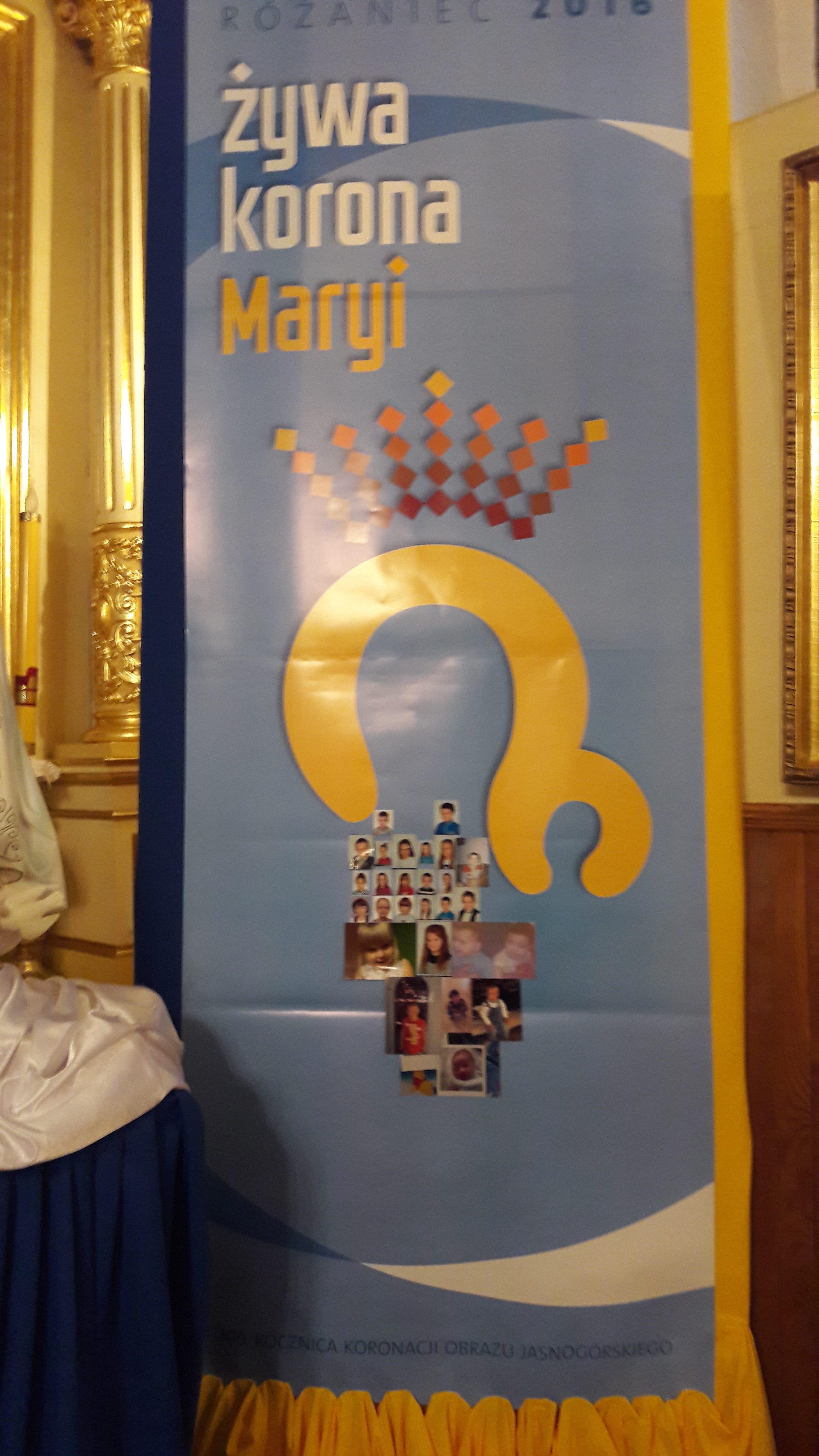 Żywa Korona Maryi! — Parafia Potworów